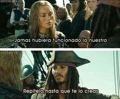 Piratas del Caribe.