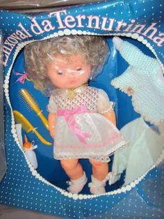 brinquedo antigo, rara boneca enxoval ternurinha da estrela.