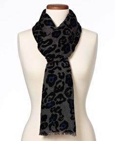 Legacy Leopard Luxe Scarf