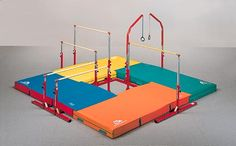 K wants some gymnastics equipment for the house