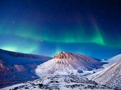 Aurora Boreale, Isole Svalbard - National Geographic