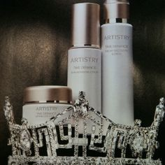 Artistry by Amway skin care line.  Also a sponsor of Miss America.  http://www.amway.com/SBGmarket Love working with an awesome company !!