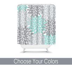 Monogram Shower Curtain Custom Personalized TRM Design 18 (4)