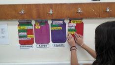 Τα βαζάκια της γραμματικής με όλα τα μέρη του λόγου! Blog, Blogging