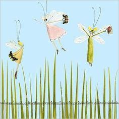 Ladies dressed as fairies  by Silke LEFFLER