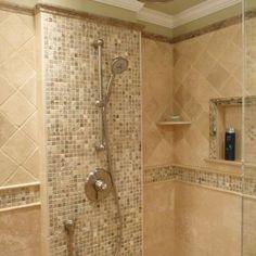 Bathroom Travertine Floors Patterns