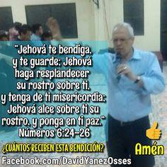 David Yañez Osses: Que el señor te bendiga y te guarde