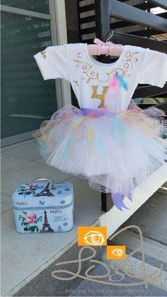 costume for unicorn party #unicorn #unicornio #kids #peques #handmadeevents