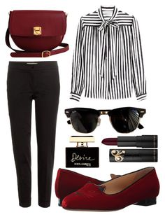 """""""433 Str"""" by emmyballenger on Polyvore featuring Philosophy di Lorenzo Serafini, The Code, Dolce&Gabbana, Ray-Ban, Charlotte Olympia and Etro"""