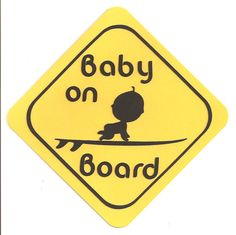 Baby on Board Card. $5.00, via Etsy.