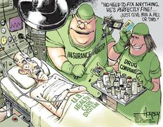 America - a Sick SocietyAmerica is a sick society. Not only is it's healthcare system clearly broken, dysfunctional and unfit for...