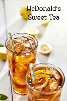 How to make Sweet Tea like McDonalds with this copycat recipe.