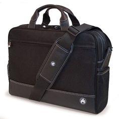 Sumo 16 Inch Men's Professional Briefcase - Black - ME-SUMO89201