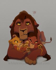 Kovu was raised to be Scar's heir and trained to be an assassin. but now he has discovered the most challenging task of all! And that's being a father. Kovu's wonderful life as a father Lion King 1, Lion King Fan Art, Lion King Movie, Lion King Funny, Lion Cub, Le Roi Lion Disney, Disney Lion King, Disney Fan Art, Images Roi Lion