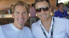 Damien Rossi and Tim Campbell