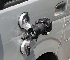 Super Strong Dual Suction Cup Mount For Exciting Driving Shots