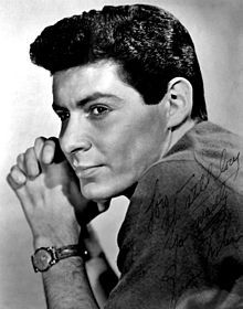 Edwin John Eddie Fisher (August 10, 1928 – September 22, 2010) was an American entertainer. He was the most successful pop singles artist of the first half of the 1950s,[1] selling millions of records and hosting his own TV show.