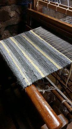 Loom Weaving, Hand Weaving, Textiles, Woven Rug, Rug Making, Home Textile, Handmade Rugs, Fiber Art, Hand Embroidery