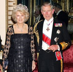 As the 87-year old Queen opens Parliament, 5-7-2013, she will be accompanied by The Prince of Wales and the Duchess of Cornwall, indicating a significant shift in the balance of monarchical responsibility between an aging Queen and her long-time heir approaching his 65th birthday. Palace advisers state that although in good health, the Queen wants to cut down on overseas trips. She doesn't like travelling without Prince Philip, 92 next month; she is increasingly concerned about his health.