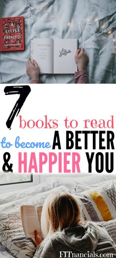7 Books To Read To Become A Better And Happier You #personaldevelopment #selfhelp
