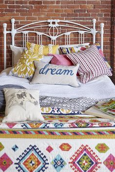 Peace, love and boho bedding. Creating the bedroom of your dreams doesn't have to cost a fortune. Get creative and get to HomeGoods to discover one-of-a-kind looks for your one-of-a-kind style.