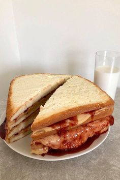 """Peanut Butter and Jelly Cake 