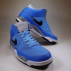 Nike Air Flight Classic Basketball Shoes UniversityBlue 414967 400 Sz 9 10