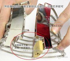 HOT! Best price Steel Wire Slave Collar Cleopatra Collar Ann Posture Collar with Brass Lock Joints