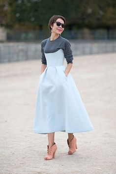 Street Style: Paris Fashion Week Spring 2014 - Ulyana Sergeenko