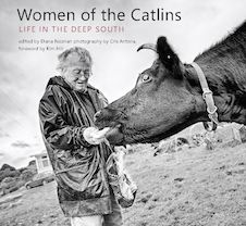 Women of the Catlins  A haunting, off-the-beaten-track destination, the little-known Catlins region of New Zealand is as mysterious today as it ever was. In this first in-depth look at the lives of its inhabitants, award-winning writer Diana Noonan and photographer Cris Antona collaborate to capture the thoughts and feelings of 26 women from this remote outpost.
