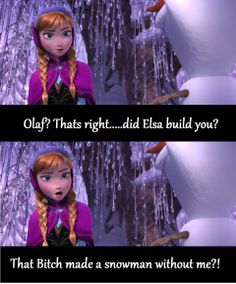 frozen humor lol totally how I'd feel Disney Love, Disney Magic, Disney Frozen, Frozen Funny, Frozen Humor, Disney And Dreamworks, Disney Pixar, Love My Sister, I Love To Laugh