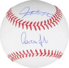 2bafd7c9afd Aaron Judge and Giancarlo Stanton New York Yankees Signed Baseball -  Fanatics  Baseball Baseball Online
