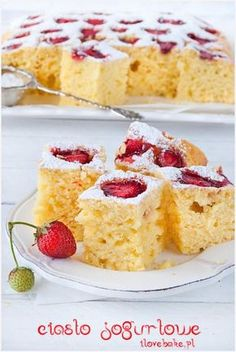 Cake nature fast and easy - Clean Eating Snacks Torte Recipe, Salty Cake, Strawberry Cakes, Savoury Cake, Clean Eating Snacks, Vanilla Cake, Food Processor Recipes, Cake Recipes, Cheesecake