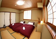 Bedroom , Preparing For Having A Relaxing Japanese Bedroom Design : Attractive Japanese Bedroom For Couple With Nice Look Japanese Inspired Bedroom, Japanese Style Bedroom, Japanese Living Rooms, Japanese Home Decor, Japanese Interior, Asian Style Bedrooms, Asian Bedroom, Bedroom Styles, Futon Covers