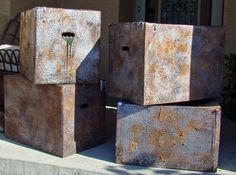 Faux Metal Haunt Boxes: Tutorial - Blogs - Halloween Forum