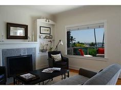 Panoramic views of ocean, bay and downtown skyline from this 1920's charming Craftsman home.     Coved ceilings, arched doorways, French doors, leaded glass windows, built-ins, fireplace, hardwood floors, sun room, formal dining room.     Front deck. Located in La Playa, this 2 BR, 2 BA puts you in a premier neighborhood of Point Loma. A unique property with plans for a magnificent addition.