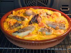 Cocinando con Lola García: Arroz al horno de bacalao
