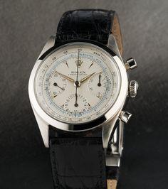 Rolex pre-daytona chronograph with Underline Ref: 6238 Circa 1961