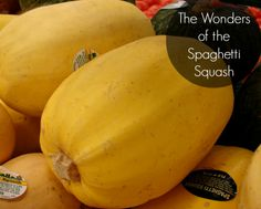 The Wonders of the Spaghetti Squash