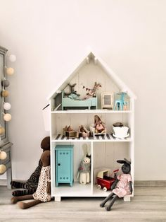 Cute dollhouse #maileg @rimini_shop - deccoria.pl