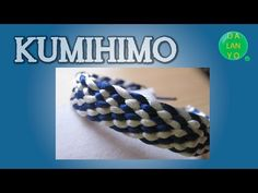 Kumimari 8: Square Loom:Bracelets for Men/ Telar de Kumihimo Cuadrado:Pulseras para Hombres - YouTube