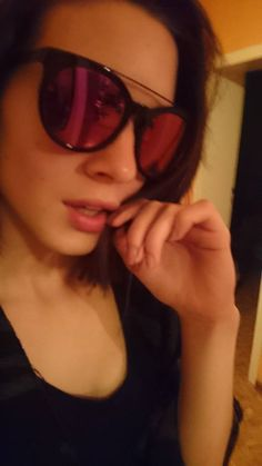 "beauty Model Carolina Hulitz '' Caro Hu '' @ Promod Model Agency  in Hamburg wears sunglasses Anderne "" Against All Odds Black "" Mirror lenses ! Stay Tuned !!!  http://www.promod.org/women/carolina-hulitz/"