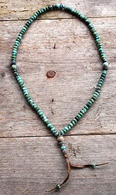 African Turquoise Mala necklace