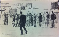 """This little drawing was uploaded by Massimo Rossetti. He describes it as """"Moleskine W #22 graphite pencil drawing"""""""
