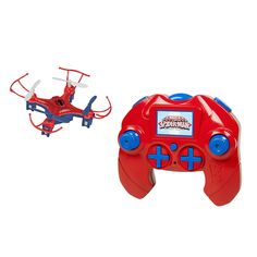 World Tech Toys Marvel Avengers Spider Man Micro Drone 4.5CH 2.4GHz RC Quadcopter