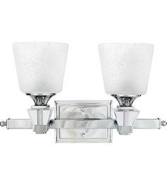 Quoizel DX8602C Deluxe 2 Light 18 inch Polished Chrome Bath Light Wall Light #LightingNewYork