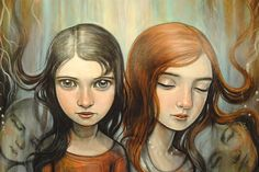 Linked by Kelly Vivanco Book Illustrations, Children's Book Illustration, Audrey Rose, Spoke Art, Face Down, Paintings I Love, Artsy Fartsy, Art Boards, Character Inspiration
