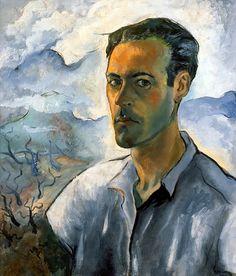 Iberê Camargo | Autorretrato, c.1942 | on ArtStack #ibere-camargo #art