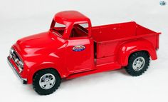 Awesome Original Restored Vintage 1950 Tonka Red Truck Toy | eBay