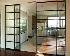 pomysł na drzwi szklane
